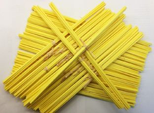 Yellow Fibre Diffuser Reeds | 3mm Diameter | 300mm Long (Pack of 8 Reeds)